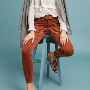 Anthropologie Pilcro & The  Brown Corduroy Pants